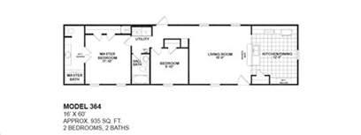 2 bedroom 2 bath single wide mobile home floor plans floorplans photos oak creek manufactured homes
