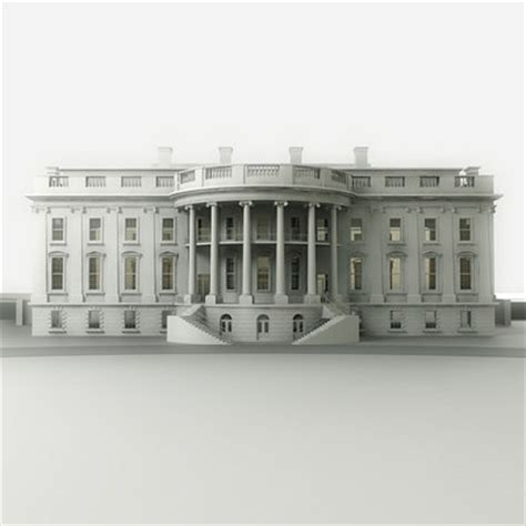 white house model 3d whitehouse white house model