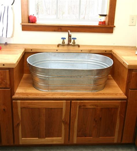 Wash Tub Sink by I Would This In My Home Rustic Laundry Sink And
