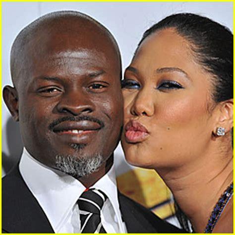 Simmons Gives Kimora Djimon His Blessing by Kimora Simmons Never Back Djimon Hounsou