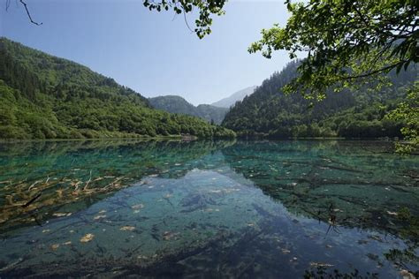 clearest lake in china facts jiuzhai valley