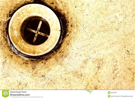sink drain stock image image 9513221