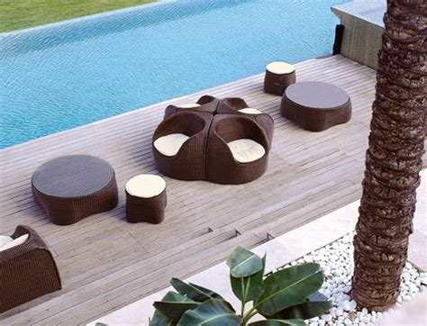 modern lawn furniture outdoor wicker furniture tends to a weakness that is