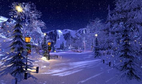 imagenes de paisajes de navidad paisaje de invierno para ni 241 os imagenes de paisajes