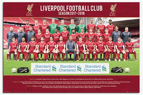 new year parade liverpool 2018 liverpool fc team photo 2017 2018 season poster new