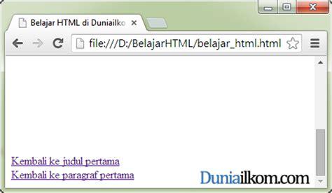 membuat link ke web lain cara membuat internal link ke bagian lain dokumen atribut