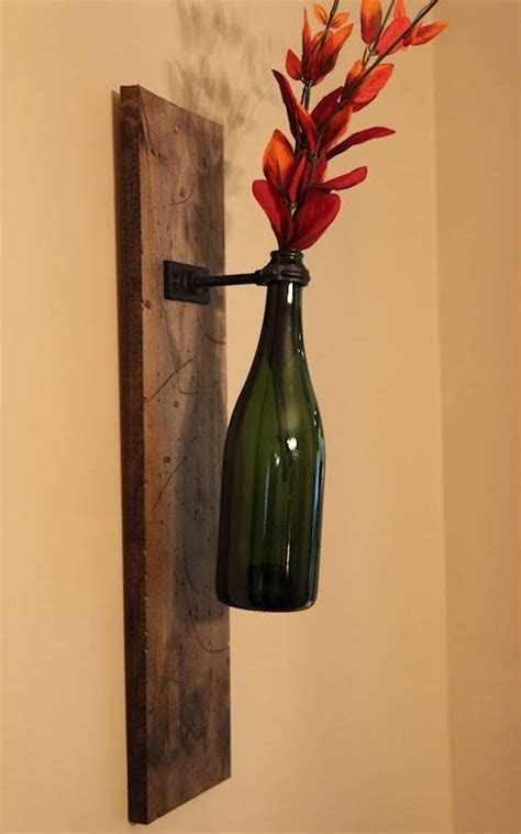 ingenious diy crafts made from wine bottles