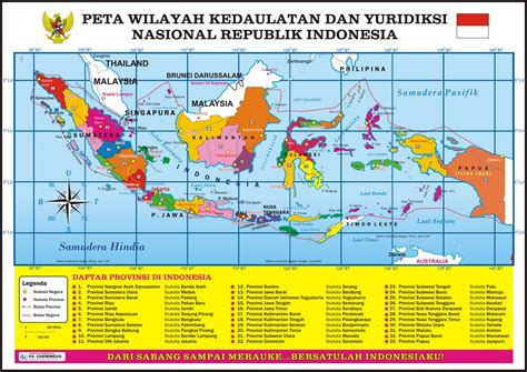 Republik Indonesia Propinsi Djawa Tengah peta indonesia