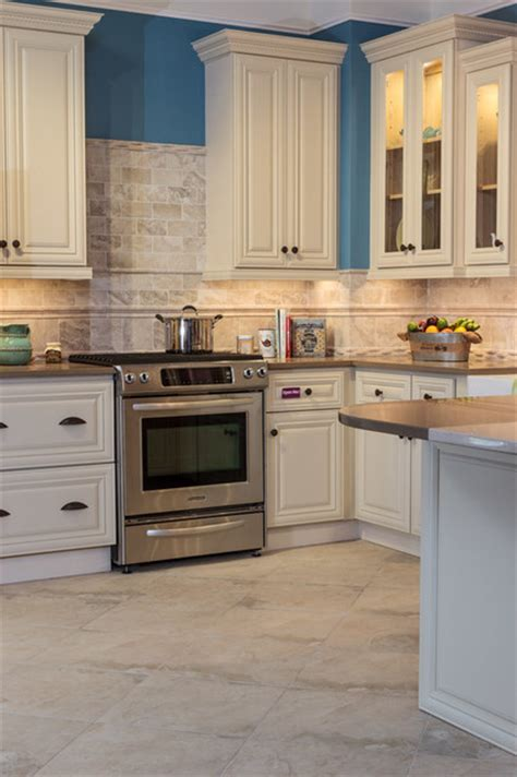 Kitchen Cabinet To Go | victoria ivory kitchen cabinets traditional kitchen