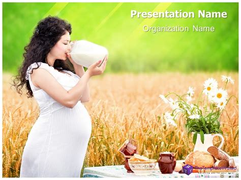 ppt templates for pregnancy free download pregnancy nutrition powerpoint presentation template