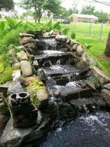 backyard waterfall ideas 26 amazing garden waterfall ideas style motivation