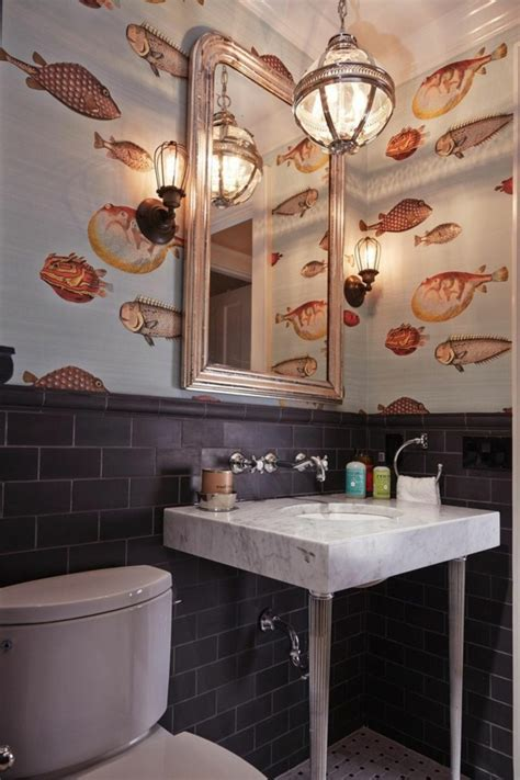 Bathroom Wallpaper Fish by Beautiful Wallpapers With Fish 21 Proposals One Decor