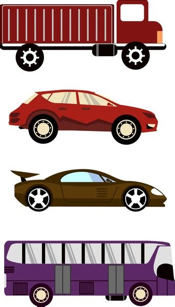 Car Color Types by Vector Car For Free About 845 Vector Car Sort