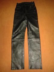 Louis Motorrad M Nchen by Damen Lederhose Bikerhose Genuine Leather Gr 38