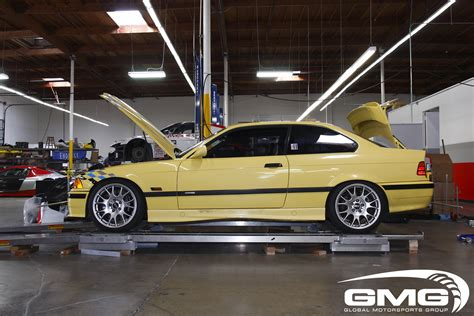 gmg racing bmw e36 m3 in for competition alignment track prep 6speedonline porsche forum