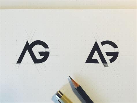 the sketchbook logo ag logo sketch by maxime sim 233 on dribbble
