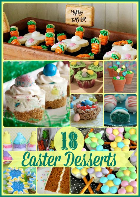 delicious easter recipes 18 fabulous easter desserts upstate ramblings