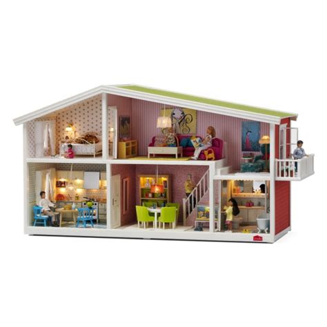 swedish doll house modern doll houses with lights by lundby smaland
