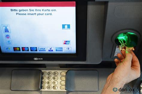 kreditkarte geld abheben sparkasse visa verweigerer probleme beim geldabheben mit
