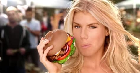 all natural burger hardees commercial girl meet the 21 year old model featured in the carl s jr