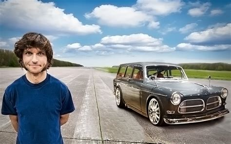Guy Martin on his Volvo: the fastest car in Britain