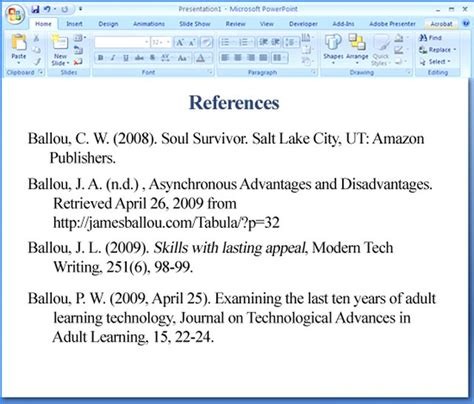 reference books in the library ppt how to use apa format in powerpoint techwalla