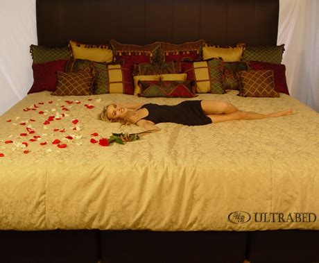 the biggest bed ultrabed high end oversized luxury and custom beds