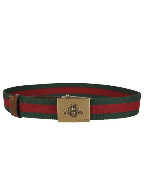 Gucci Tote Belt gucci gucci web belt with bee buckle green green