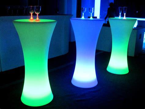 Led Bar Table Led Cocktail Table Tib Usa