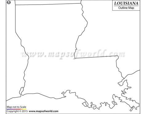 louisiana map blank buy blank map of louisiana