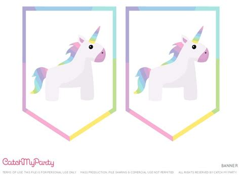 printable unicorn birthday banner 392 best unicorn printables images on pinterest parties