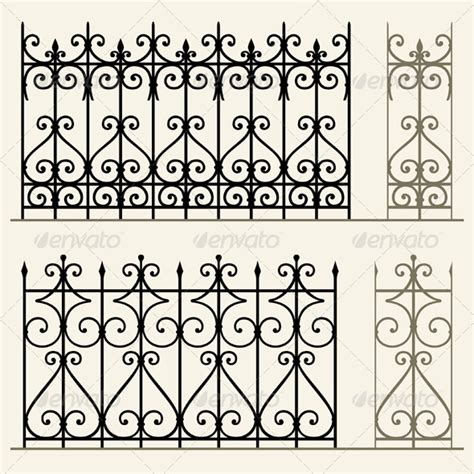 wrought iron modular railings and fences by barbulat