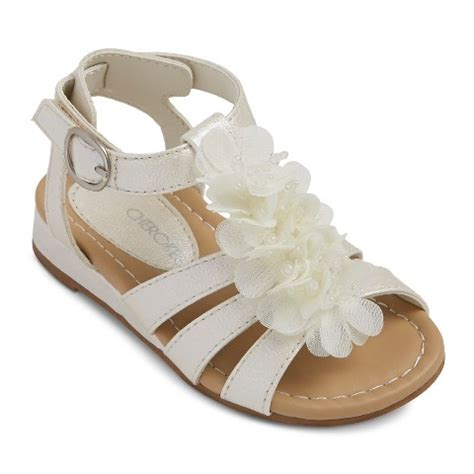 toddler flower shoes ivory toddler s 174 dabney sandals ivory