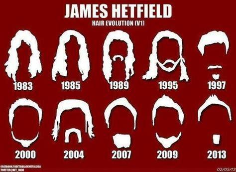 Hetfield Hairstyles by Hetfield Hair Style Metallica Hair