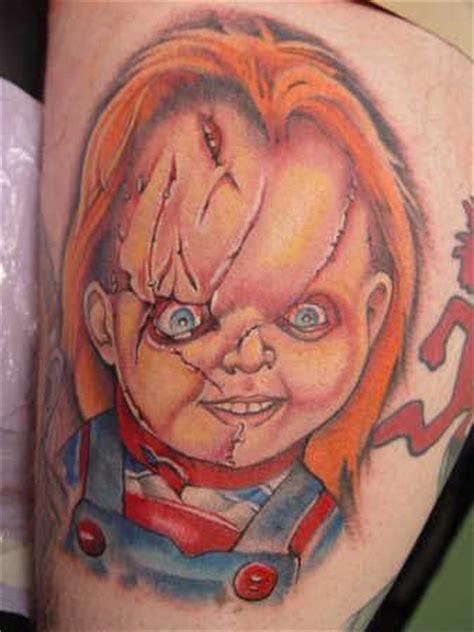 chucky tattoo designs seed of chucky tattoos www pixshark images