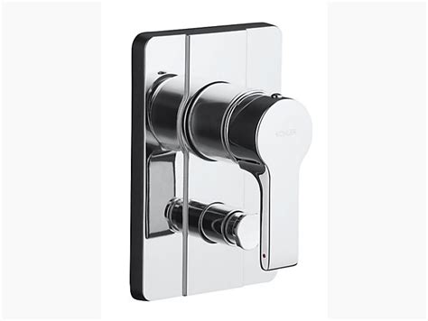 Badge Faucet Singulier Recessed Bath And Shower Faucet Trim With Lever