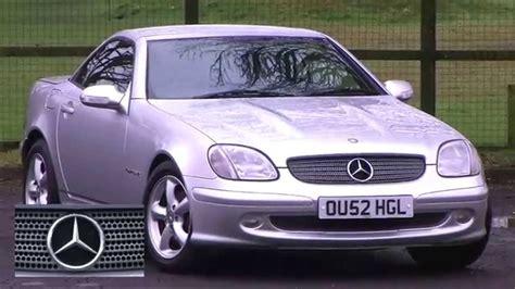 how does cars work 2002 mercedes benz slk class on board diagnostic system mercedes benz slk 2 3 slk230 kompressor 2dr park assist full leather youtube