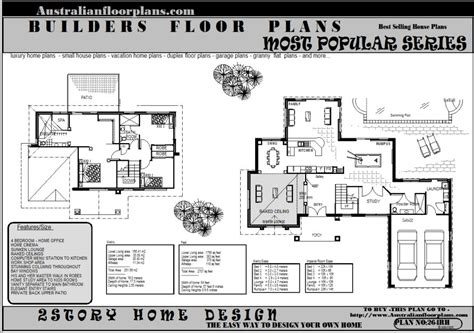 double storey floor plans house plans and design house plans australia double storey