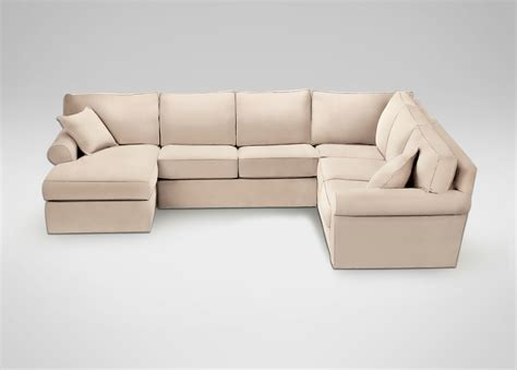 chaise sectionals retreat roll arm sectional with chaise sectionals