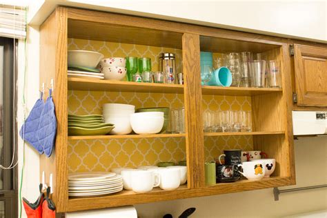 removable wallpaper for kitchen cabinets 15 small kitchen storage organization ideas