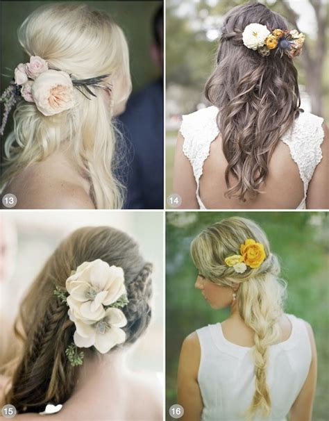 Wedding Hairstyles With Flowers by 50 Wedding Hairstyles Using Flowers