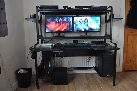 Cool Computer Setups And Gaming Setups Computer Desk Setups