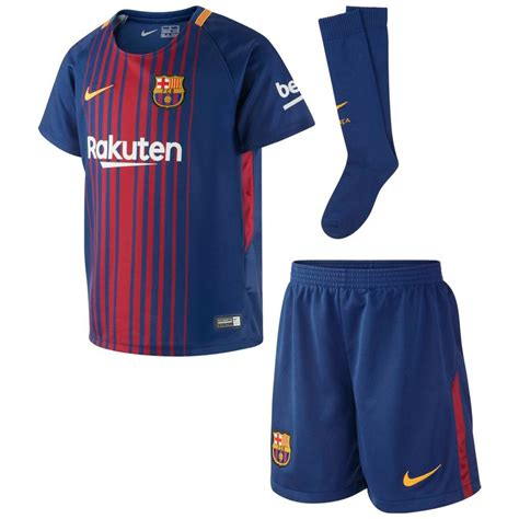 Jersey Fc Barcelona Home 2017 2018 nike kid s barcelona fc home mini kit soccer jersey shorts 2017 2018 kits official replica