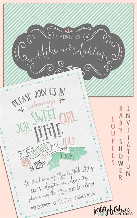 diy vintage baby shower invitations 188 best images about jellyfish printables on