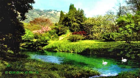 giardini di ninfa immagini il giardino di ninfa hd on vimeo