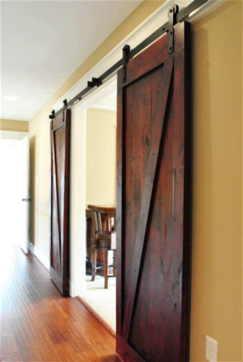 sliding barn doors in homes interior sliding barn doors one realtor s opinion
