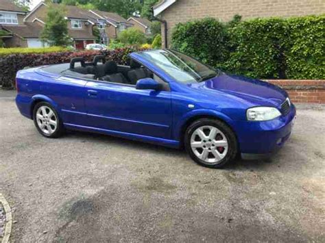 vauxhall convertible vauxhall 2003 astra coupe convertible blue car for sale