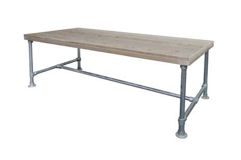 poten salontafel praxis steigerhouten tafel met steigerbuis onderstel f 216 rn