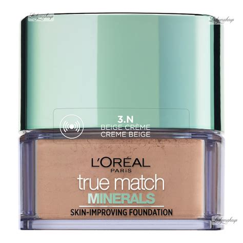 L Oreal True Match Mineral Foundation l or 233 al true match minerals skin improving foundation