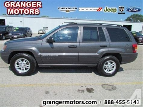 2003 Jeep Grand Engine For Sale 2003 Jeep Grand Laredo For Sale In Granger Iowa